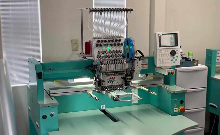 タジマ 刺繍機