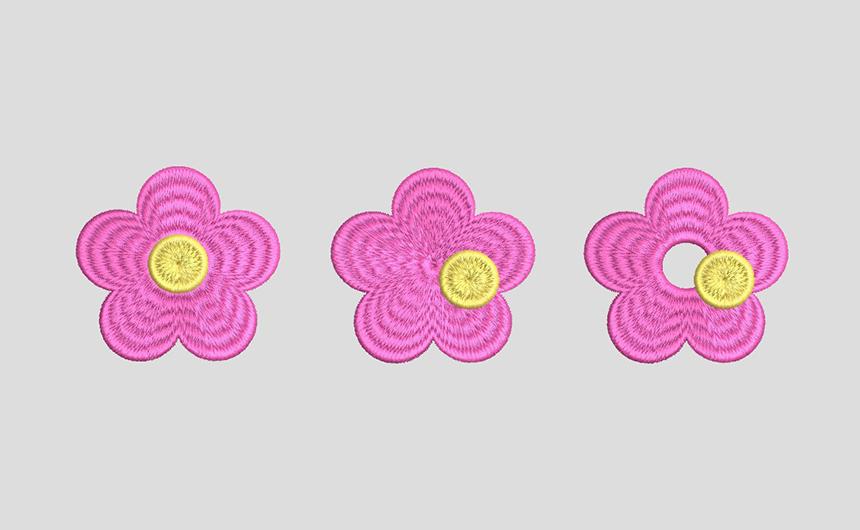 ドーナツ縫い