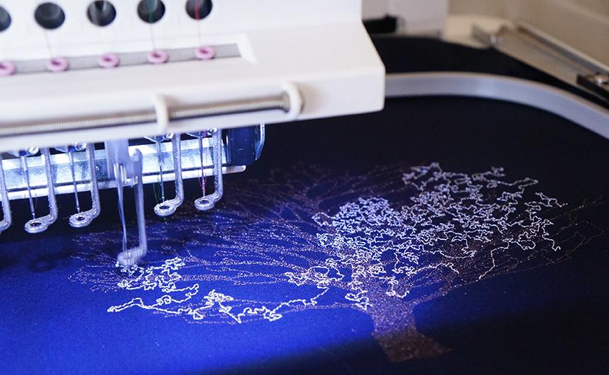 糸の帆 ミシン刺繍教室