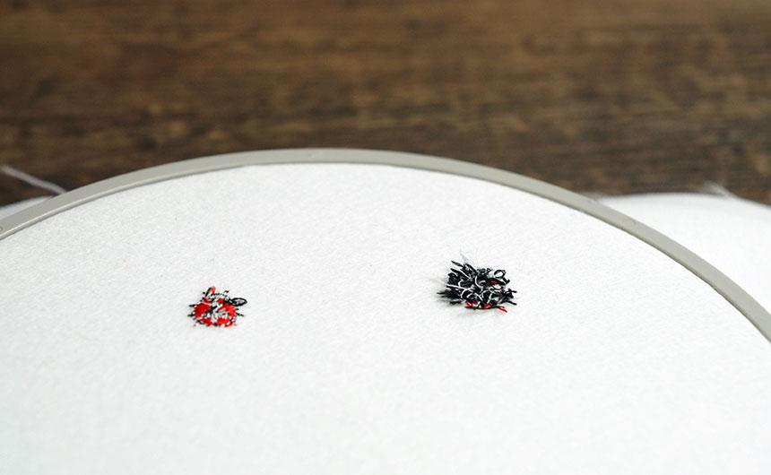 刺繍の裏面が汚い時の対処法
