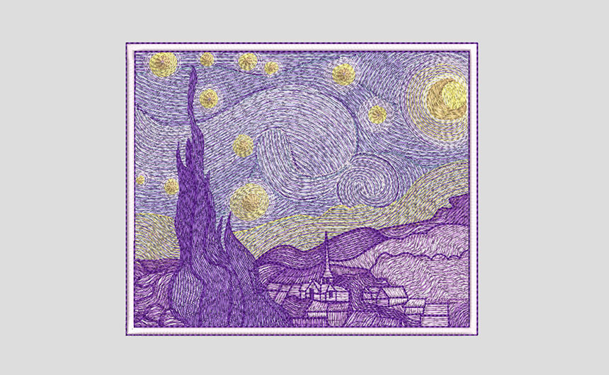 Wilcom ES Starry Night